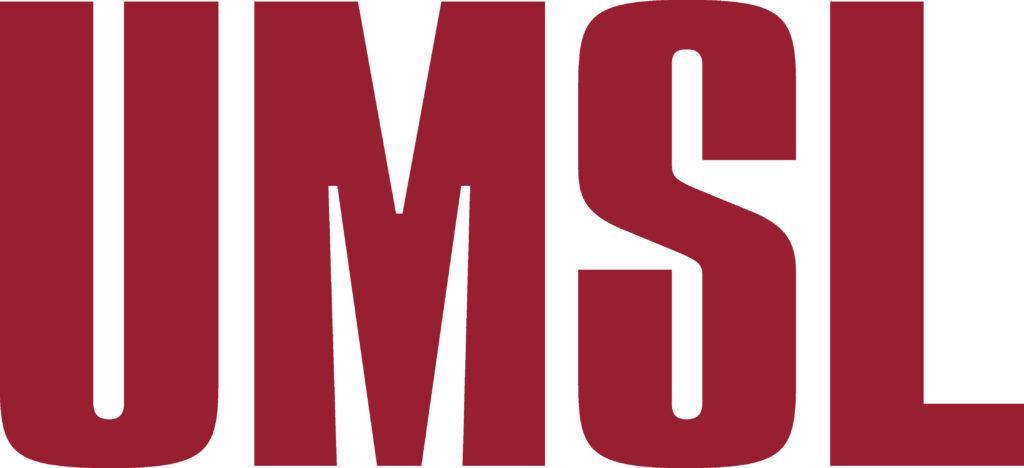 UMSL red logotype, JPG, RGB